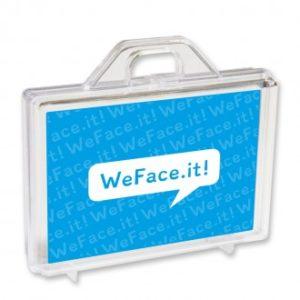 WeFaceIt koffertje